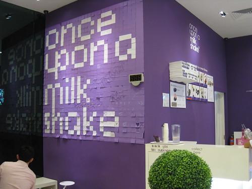 Once Upon A Milk Shake