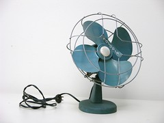 Aqua Blue KoldAir Fan