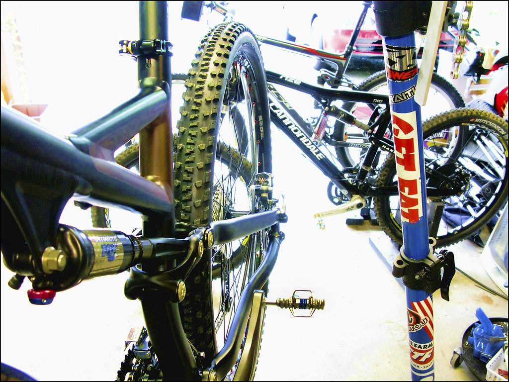 bikes in my kitchen (garage)