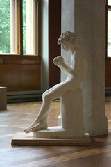 Sculpture of a Boy 3 (noriko.stardust) Tags: sculpture art history beautiful beauty museum sweden stockholm antique object fine craft objects national