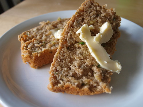 Sunflower Zucchini Bread