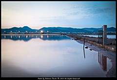 Las Salinas (Stoper) Tags: sunset sky españa water atardecer spain agua salt salinas ibiza cielo eivissa reflexions sal salines