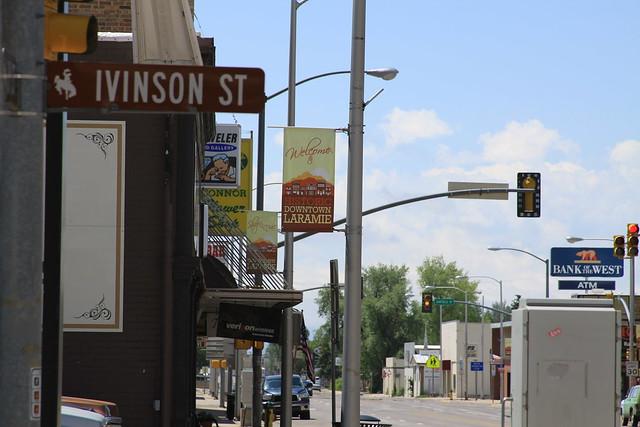 Street Scene, Laramie