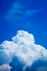 summer sky (sachan) Tags: blue summer sky cloud