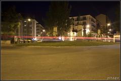 """Plaza del """"Folclore"""" (Petaqui) Tags: plaza españa noche huesca nocturna aragon jaca folclore"""