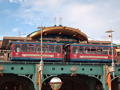 DisneySea Electric Railway - Port DIscovery Station (Peter E. Lee) Tags: japan train disney jp chiba tokyodisneysea 2010 tds tdr portdiscovery tokyodisneyresort tokyodisneylandresort disneyseaelectricrailway disneyphotochallenge tdlr