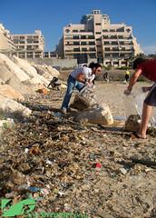 IMG_5059_Logo (Streamer -  ) Tags: ocean friends sea green beach nature project israel garbage volunteers group cleanup social clean help friday  bins streamer initiative enviornment     ashkelon        ashqelon