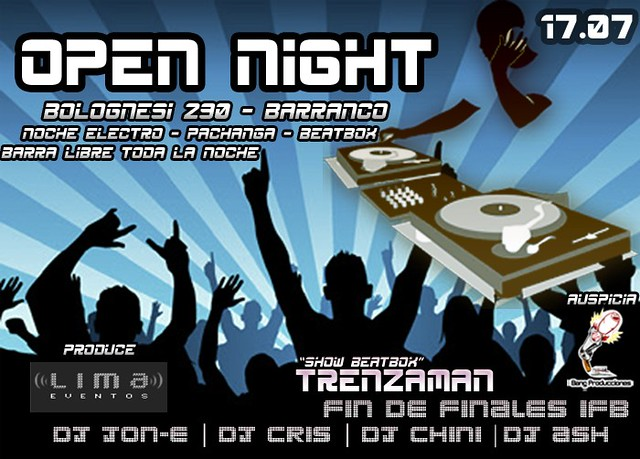 Open Night 2010 - Barranco