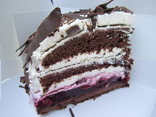 Vegan Schwarzwälder Kirschtorte (Black Forest Cake) from Cafe Vux