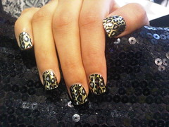 Minx Nails (Tooma Nails Salon (Bahrain)) Tags: lighting west golden bahrain kingdom nails minx salon cheetah  riffa  tooma
