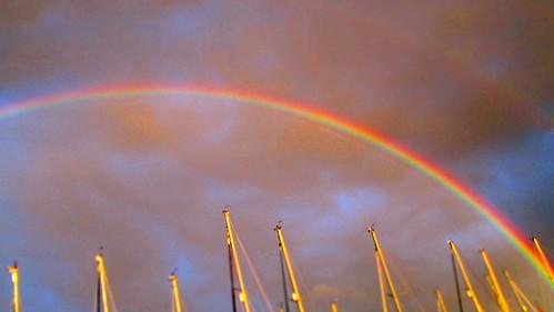 scotland rainbow sailing yacht july 2010 largs july2010