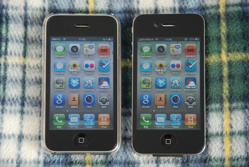 iPhone3GS & iPhone4