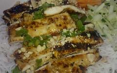 so ba - bun ga nuong (grilled chicken)