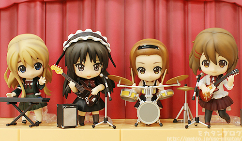Nendoroid K-ON! Yui & Tsumugi Live Stage Set - 05