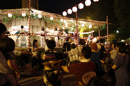 Bon Odori, Yasukuni Shrine (Mitama Festival 2010)