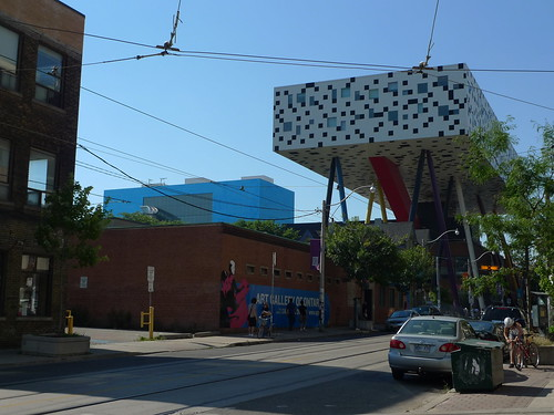 Art Gallery of Ontario with Ontario College of Art & Design
