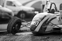 Bent [194] (Stephen Thomas) Tags: bw blackwhite steering crash accident perth 365 bent buckle westernaustralia 135l tierod formulaford 135mmf2l barbagallo canon7d loudphotosdaily spicescateringcup rackend