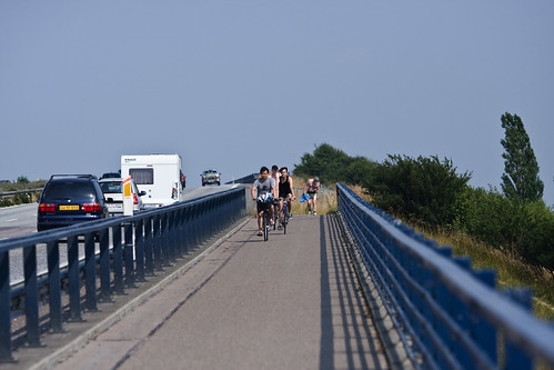 Motorway and Bike Lane