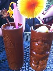 #196 - Tiki Drinks (katbaro) Tags: drinks 365 cocktails tiki project365 365moments project365196 3652010july