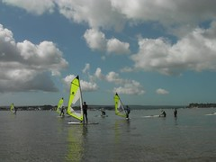 Windsurfing Club at the Poole Windsurfing School