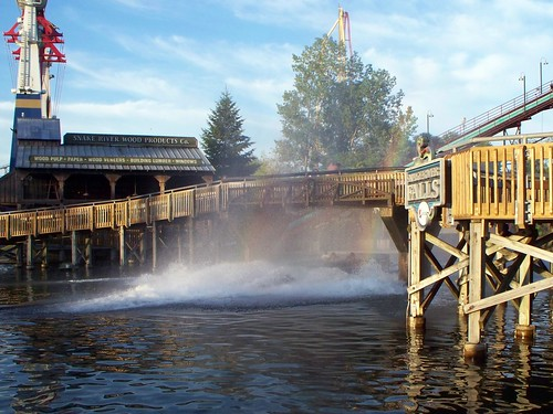 Cedar Point - Snake River Falls Rainbow