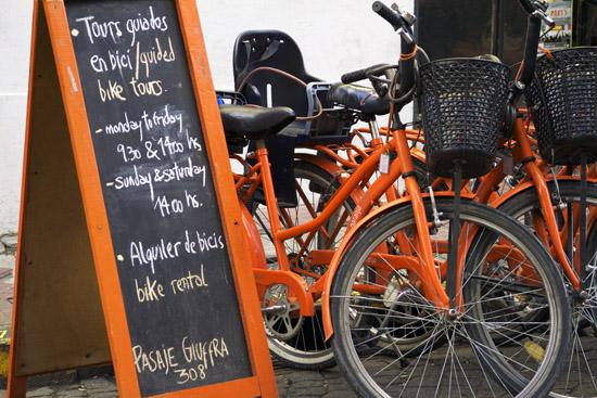 La Bicicleta Naranja's Tours