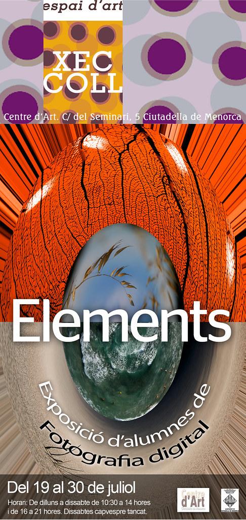 'Elements' a l'espai d'art Xec Coll