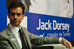 Jack Dorsey creador de twitter