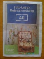 Still-Leben Ruhrschnellweg A40 (Sonderbeilage WAZ, WR, NRZ, WP)