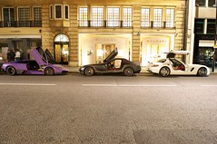 now thats what you call a combo! (Luke Alexander Gilbertson) Tags: black slr matt mercedes benz nikon raw purple 4 s mclaren f28 v8 sv 62 sls amg supercharged roadster murcielago v12 722 2470 lp640 laborghini d700 superveloce lp670