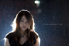 (zhewen!) Tags: sanfrancisco blue portrait rain backlight alley downtown bokeh raindrops rimlight d90 strobist waterbokeh yn460 apollosoftbox zhewen