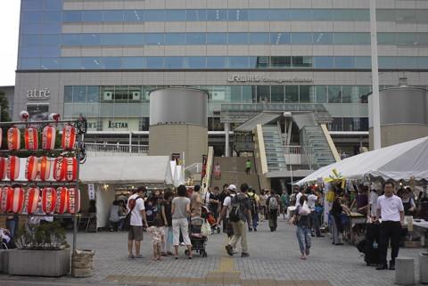 変わる品川・品川駅港南夏祭り