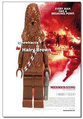 Chewbacca IS Hairy Brown (Magne M) Tags: hairy brown silly film movie poster weird geek lego spoof minifig filmposter chewie chewbacca harrybrown hairybrown legomovieproject
