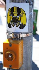 'orphan' ~ College & Spadina (Sally E J Hunter) Tags: toronto graffiti sticker orphan orphans moo1 topwkm