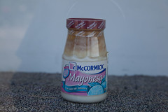 How old is this jar of mayo? (Colby Perry) Tags: mayonnaise spoiledfood mayonesa rottenfood displayfood mccormickmayonnaise