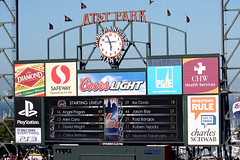Mets lineup (You can't prove it) Tags: california baseball bobblehead mlb newyorkmets mccoveycove sanfranciscogiants attpark timlincecum