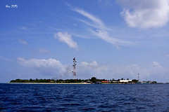 United States of Velidhoo (USV) (Athafani) Tags: blue sea sky sun water landscape maldives velidhoo noonu