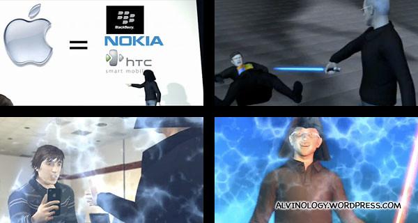 Steve Jobs is evil.