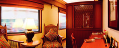 Maharajas' Express - Suite (Train Chartering & Private Rail Cars) Tags: indiantrain privatetrain privaterailcar chartertrain traincharter trainchartering privatecarriage luxurytravel luxurytrain luxurytrainclub indianluxurytrain maharajasexpress