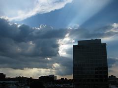 And Then Fantastic Rays (zxgirl) Tags: sky cloud clouds virginia ray skies va rays fairfax sunrays mclean sunbeams crepuscularrays atmosphericoptics s5 tysons tysonscorner img6244