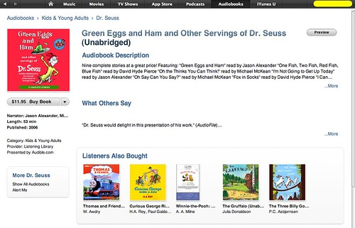 Dr Seuss Audiobooks on iTunes