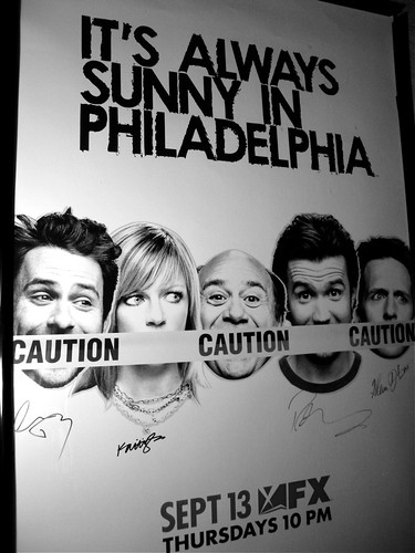 Our Signed It's Always Sunny Poster