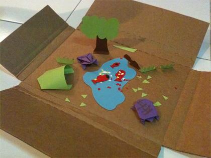 paper-diorama