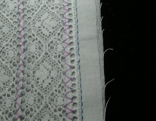 lace to entredeux