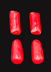 Hot Tamales Gum Compare