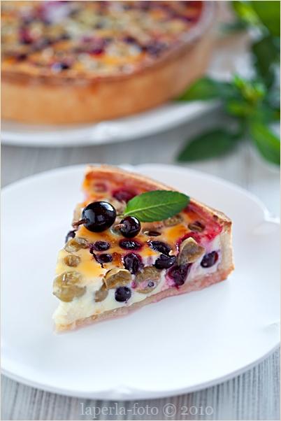 Gooseberry tart1