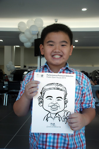Caricature live sketching for Performance Premium Selection BMW - Day 2 - 12
