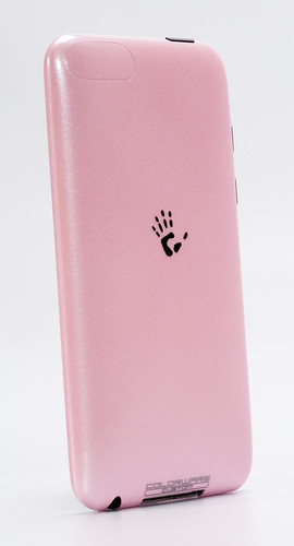 colorware'd ipod touch, pink