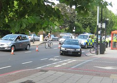 Mile end road cycle accident 2