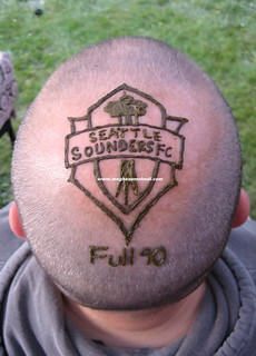 A true Seattle Sounders fan